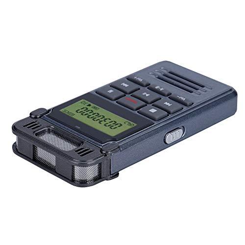 Socobeta Grabadora de voz inteligente Grabadora de audio multifuncional portátil de 90 horas