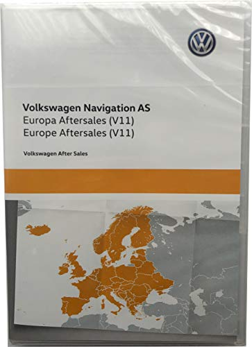 5NA919866AG SD Karte Europa West V11 Navigationssystem Update Original Navi Kartendaten *** Discover Media (System AS) ***