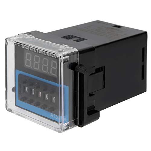 Relé de tiempo de ajuste flexible Pantalla digital Retardo cíclico Amplio rango de retardo Módulo de relé de temporización de retardo para sistemas de control de automatización industrial