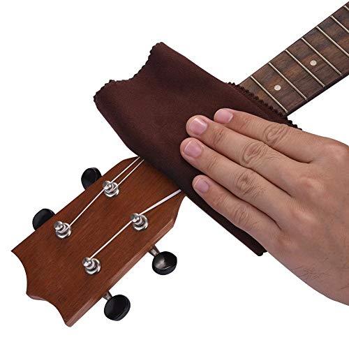Chifans Aceite de limón lubricado para Guitarra 60ML, con toallitas, Cuidado + hidratante, 10X3.5X3.5CM, Guitarra/bajo/Ukelele y Otros Instrumentos