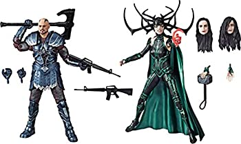 Marvel Legends Series Thor  Ragnarok 6 -Scale Movie-Inspired Skurge & Marvel's Hela Collectible Action Figure 2 Pack