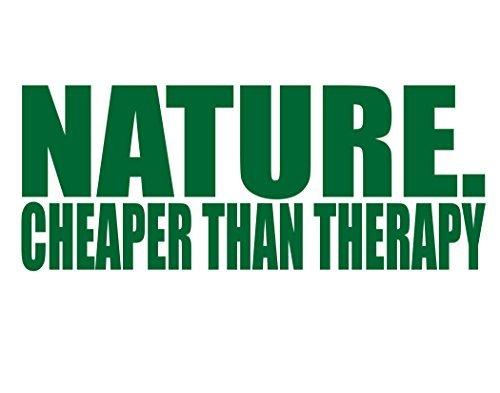 De natuur. Goedkoper dan therapie Grappig (9