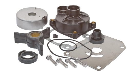 SEI MARINE PRODUCTS-Compatible with Evinrude Johnson Water Pump Kit 0438592 40 48 50 HP 2 Stroke 3 Vane 1989-1998