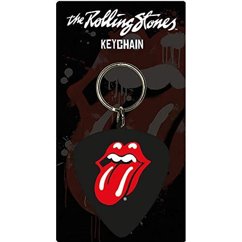 ROLLING STONES ローリングストーンズ (8年ぶり新曲リリース) - Plectrum/ラバー・キーリング/キーホルダー 【公式/オフィシャル】