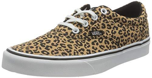 Vans Doheny, Zapatillas Mujer, Cheetah Black/White, 38.5 EU