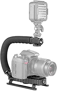 Ozone C Shaped Video Action Stabilizing Handle Bracket for GoPro DSLR Cameras