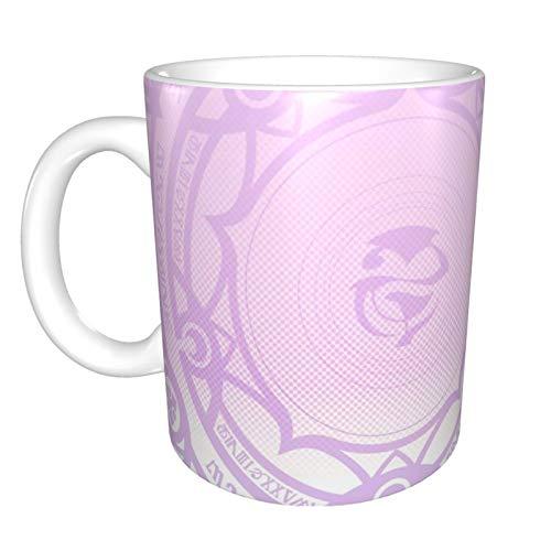 Simple High School DxD Tazas de cerámica taza de café aislado con mango tazas de café para capuchino