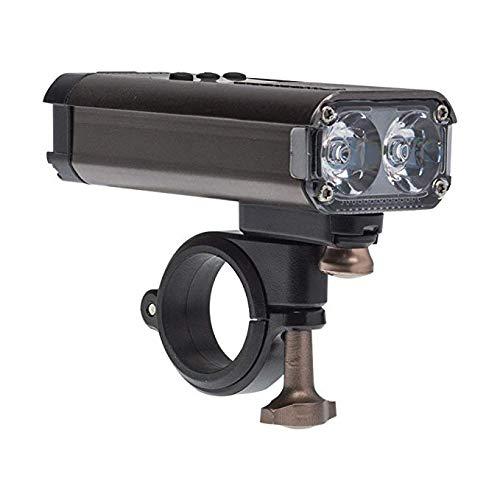 Blackburn Countdown Front Light Cuenta atrás 1600 luz Delantera RC, Unisex Adulto, Negro, Talla única