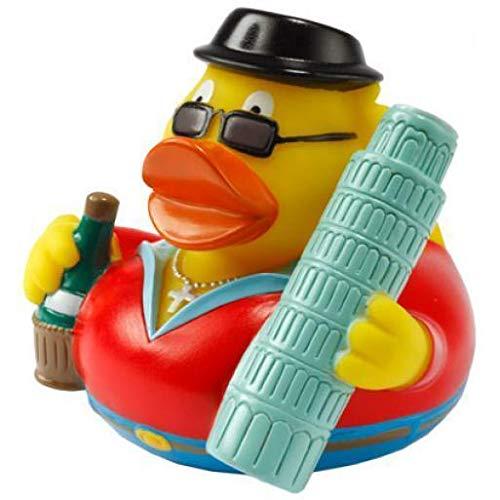 CityDuck® Pisa Badespaß Gummiente Quietschente Badeente Badespielzeug