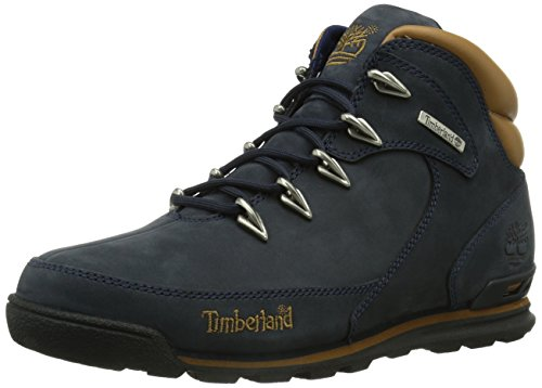 Timberland Herren Euro Rock Hiker Chukka Boots, Blau (Medium Blue Nubuck), 42 EU