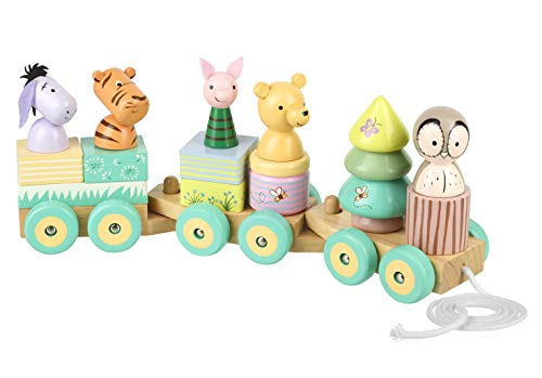 Orange Tree Toys Klassischer Pooh-Puzzle-Zug