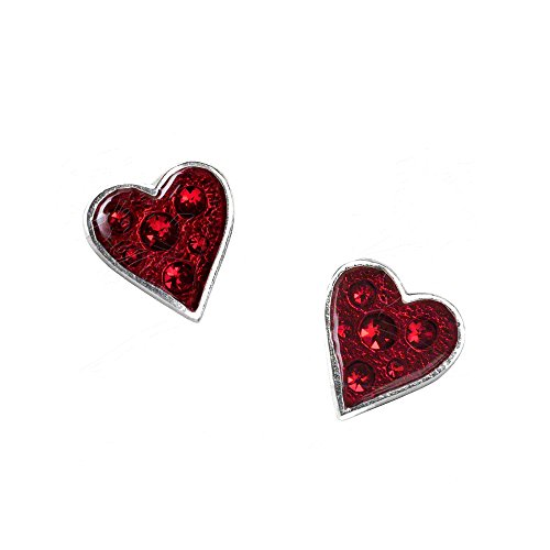 Heart's Blood Pair of Earrings by Alchemy Gothic by Alchemy Gothic