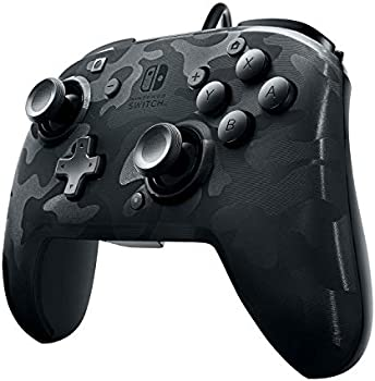 PDP Nintendo Switch Black Camo Faceoff Wired Pro Controller