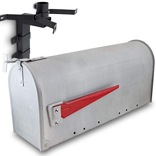 US Mailbox Amerikanischer Briefkasten Standbriefkasten Wandbriefkasten Letterbox Beton Optik Inclusive Wandhalter