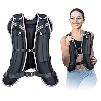 Amazon - 71% Off on Sport Weighted Vest Water Filled Adjustable Travel Running Workout Equipment