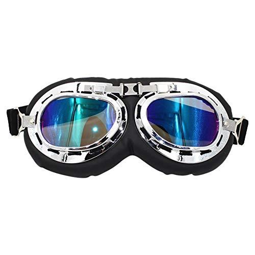 Verloco veiligheidsbril voor de ogen tijdens het fietsen, outdoor, fiets, motorfiets, anti-uv-straling, stof, mist en verschillende sterke lampen, past zich optimaal aan het gezicht aan.