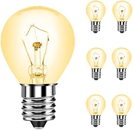 25 Watt S11 Lava lamp Appliance Replacement Light Bulb for Original Lava Lamps Glitter Lamps product image