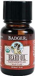 Badger Man Care Organic Beard Oil - 1 oz