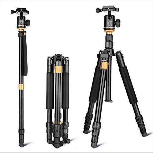 Xiaojie Trípode profesional de cámara SLR de aleación de aluminio y magnesio, disparo portátil y estable