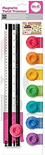 We R Memory Keepers 0633356709596 Trimmer & Mat-Magnetic Twist Trimmer, Multicolor