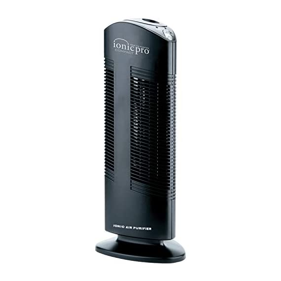 Envion - ionic pro ca200, compact air purifier tower for rooms up to 200 sq. Ft. (black) 3 ionic purification: this room air purifier sanitizes and removes 99. 9% of airborne allergens, irritants, and pollutants in your whole home - plus it destroys cold & flu viruses, mold spores, and staph and strep bacteria. Silent operation: this quality air cleaner destroys airborne germs and odors without any ambient noise. Easy to use in any room in the house, including the baby's nursery without disturbing their sleep. Compact design: the sophisticated standing tower design is small and compact enough to make it portable and easy to move from room to room. The one-touch operation with push-button ease saves time and effort.