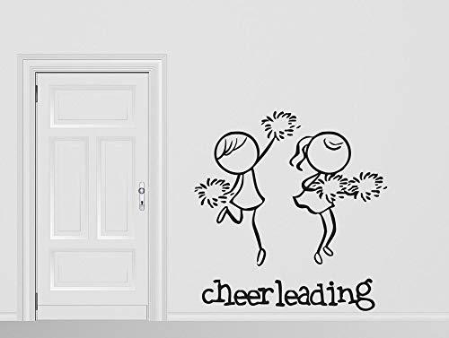 Geiqianjiumai Cheerleading Team wandaufkleber entfernbare wandaufkleber Sport unterstützung...