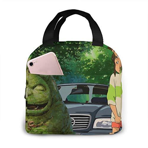 Chihiro Spirited Away Studio Ghibli Green Anime Cooler Bag O