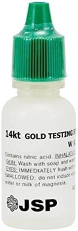 Max 55% OFF Gold Oklahoma City Mall Testing Acid for 14K