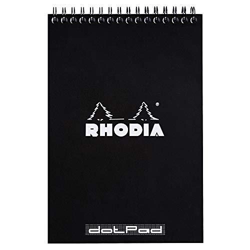 Rhodia 165039C Taccuino, Nero, A6