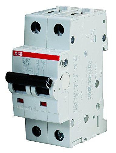 ABB S202-B32 Miniature Circuit Breaker, 480Y/277 VAC, 32 A, 6 kA Interrupt