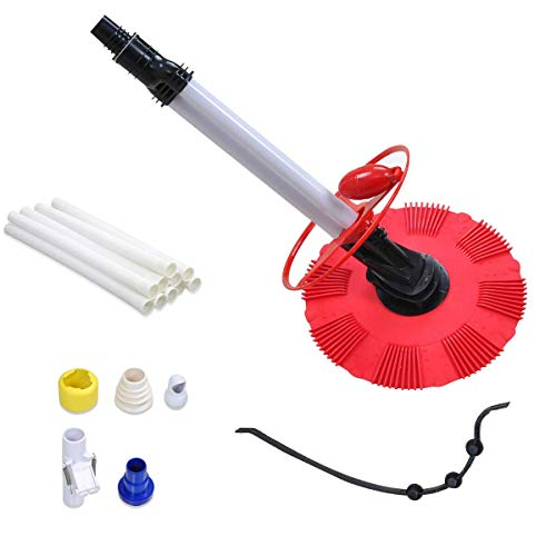 For Sale! Automatic Regulator Valve Suction PVC Vacuum Cleaner Hoses Tool Set Red Durable Sturdy Hea...