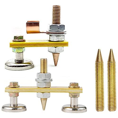 Conexión fija Cabeza de la soldadura del imán, la soldadura magnética de la soldadura de la soldadura de cobre la estabilidad de la soldadura, el magnetismo fuerte la succión grande Posicionador de so