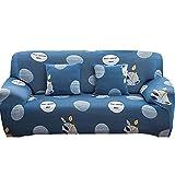 WXQY Funda elástica para sofá con Todo Incluido, Funda para sofá en Forma de L Funda para sillón para Sala de Estar, Funda Protectora para Muebles A34 de 3 plazas