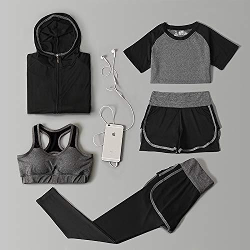 Mazu Homee Damen 5 Stück Sport BH Yoga...