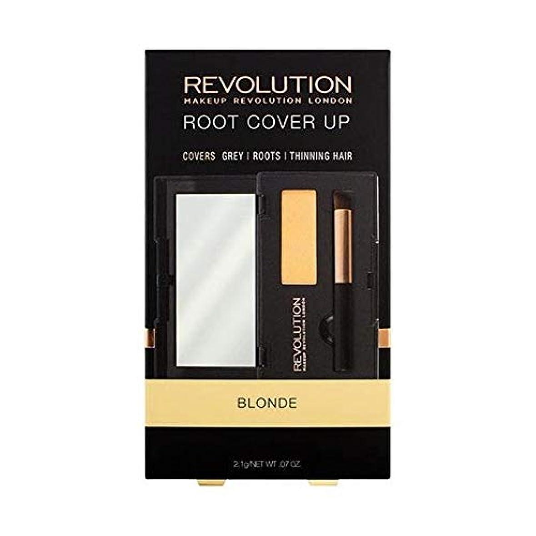 打ち上げる許容仮称[Hair Revolution ] ヘア革命ルートは金髪をカバー - Hair Revolution Root Cover Up Blonde [並行輸入品]