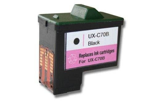 vhbw Druckerpatrone Tintenpatrone schwarz für Sharp FO-B1600, UX-A1000, UX-B15, UX-B17, UX-B20, UX-B20CN, UX-B30, UX-B30CN, UX-B30RA wie UX-C70B.