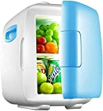 XiYou Refrigerador de Coche de 8L Nevera eléctrica portátil para el hogar Mini refrigeración pequeña de una Sola Puerta para Viajes autónomos, picnics, Pesca, Acampada