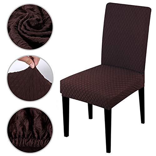 Tayinio Jacquard-stof, dikke plaid, super zacht, elastisch, voor bureaustoel, voor hotel