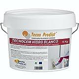 TECNOCEM HIDRO de Tecno Prodist - (10 Kg) - Mortero cemento de capa gruesa para revocos y enlucidos,...