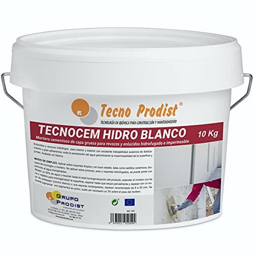 TECNOCEM HIDRO de Tecno Prodist - (10 Kg) - Mortero cemento