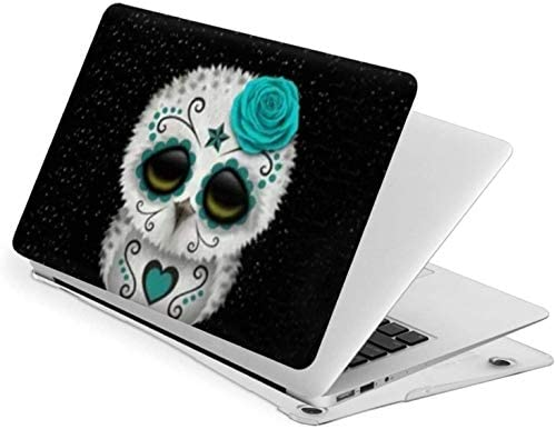 Cute Teal Owl Case for MacBook Air 13 Inch 2020 2019 2018 New Version A1932 A2179 Plastic Hard product image