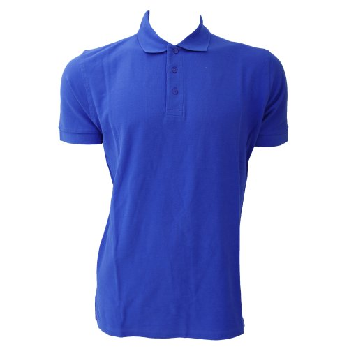 Jerzees Colours Ultimate Herren Polo-Shirt, Kurzarm (3XL) (Königsblau)