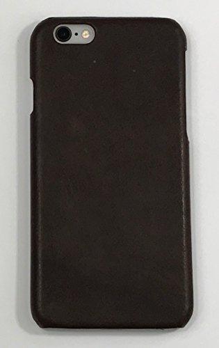 iPhone 6 Plus / iPhone 6s Plus Case - Restoration Hardware - Genuine Italian Leather Hard Shell Case (Brown)