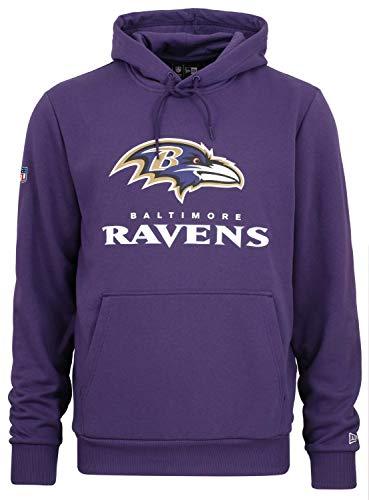 New Era - NFL Baltimore Ravens Team Logo and Name Hoodie - Lila Farbe Lila, Größe 3XL