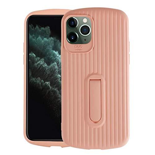 iPhone 11 Coque Case TPU Housse de Protection Antichoc à Double Couche pour l'Ensemble du matériel Design Ultra-Mince Plastique Robuste Durable Case pour iPhone 11 (rose)