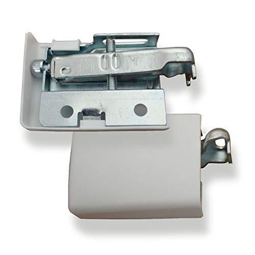 2 Paar SO-TECH® Schrankaufhänger STRONG verstellbar Aufhänger f. Hängeschrank bis 130 Kg Schrankaufhängung Halter