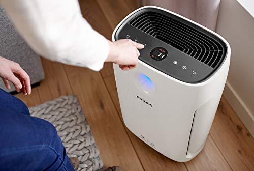 Philips AC2887/10 Purificateur d'air, purifie jusqu'à 79 m², triple filtration, affichage des particules fines en temps réel