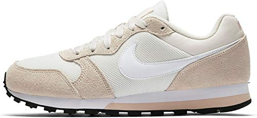 Nike MD Runner 2, Zapatillas de Running Mujer, Multicolor (Phantom/White/Light Cream/Particle Beige 000), 36 EU