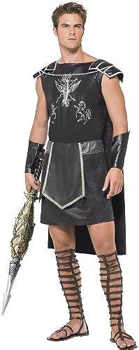 Gladiator-Fieber-Kostüm, Schwarz dunkel