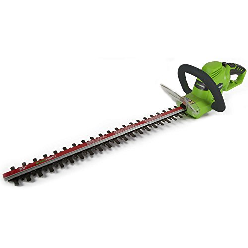Greenworks 4 Amp 22-Inch Dual-Action Corded Hedge Trimmer 22122
